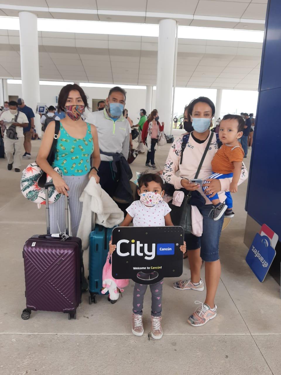 Nuestros clientes familiares en Cancún