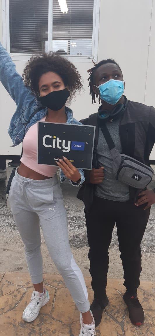 Our Clients, Anastacia and Georgina in City Car Rental Los Cabos
