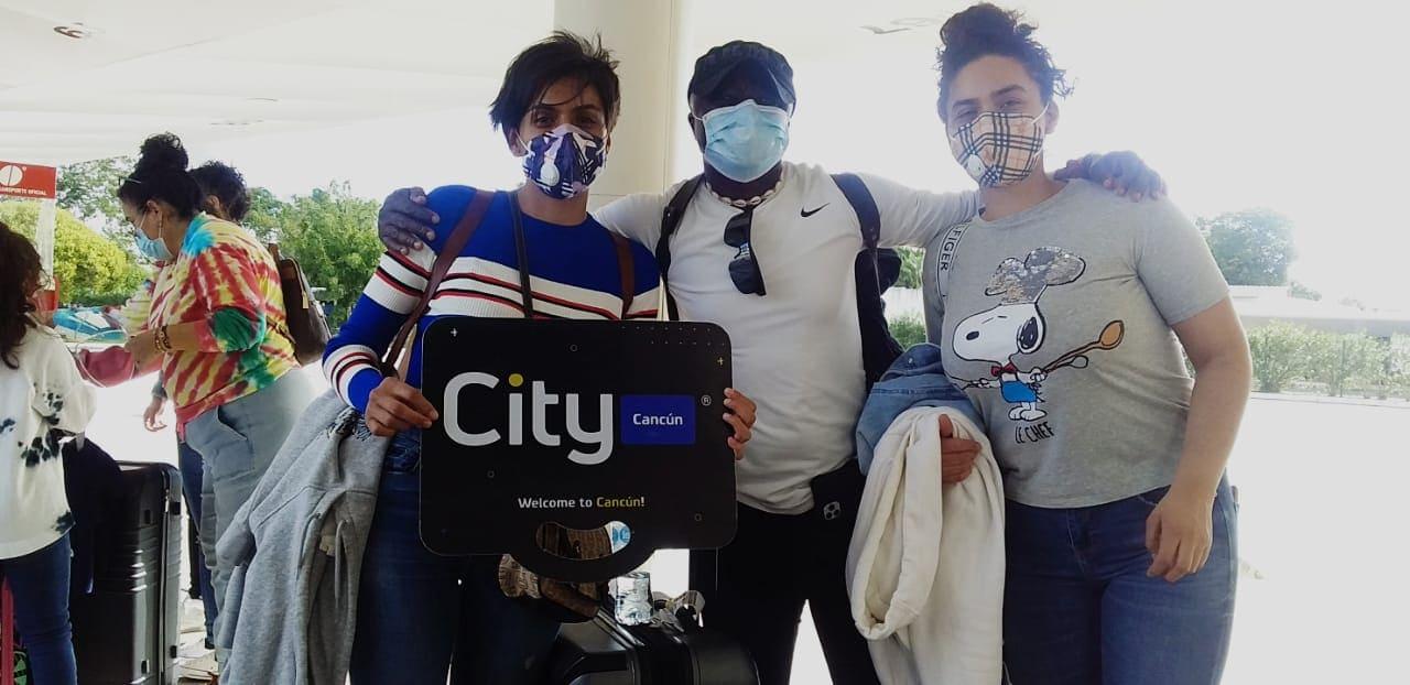 Nuestros Clientes, la familia Estrada en Cancun